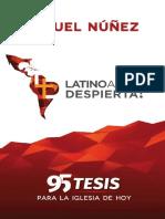 ¡Latinoamérica Despierta!_ 95 Tesis Para La Iglesia de Hoy (Spanish Edition)