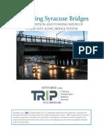 NY Syracuse Preserving New York Bridges Report September 2019