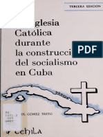 Iglesia Católica Cuba Periodo Socialista-raul