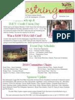 Shoestring Nov 2010 issue, Indiana Jingle Bell Run/Walk Kick-off e-newsletter