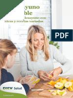 DKV eBook El Desayuno Saludable