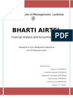 Bharti Airtel FINAL Project Report