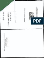 Fundamentos de La Biología - Mainx, Felix