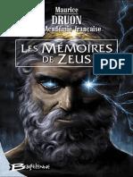 Les M Moires de Zeus Int Grale