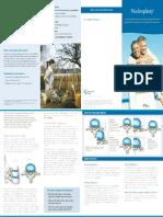 Nucleoplasty Patient Brochure