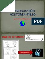 Introducción HISTORIA (Hasta XVIII)