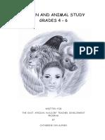 Human and Animal Study Manual 2012