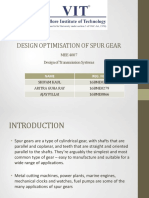 DESIGN OPTIMISATION OF SPUR GEAR - Review1.pdf