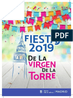 Programa Fiestas Virgen de La Torre 1