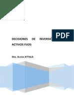 Decisiones de Inversión en Activos Fijos - Attala a.