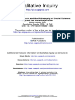 Participatory Research and the Philosophy of Social Science- Beyond the Moral Imperative