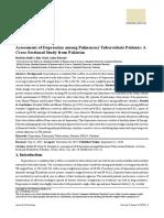 Assessment of Depression Among Pulmonary Tuberculo