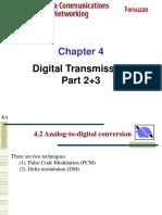 CH-4 Digital Transmission Part 2 & 3