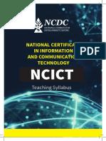 NCDC National Certificate in Ict Syllabus UBTEB Uganda