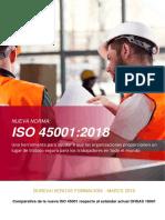 Comparacion ISO-45001-2018 vs OHSAS-18001 Bureau Veritas Formacion.pdf