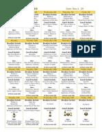elementary menu nov 2019