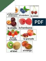 16 Frutas