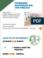 Estándares Internacionales de Contabilidad Del Sector Publico Expo