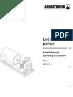 F40 561 End Suction Pumps IOI