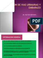 INFECCION  VIAS URINARIAS Y EMBARAZO MATERNIDAD.ppt