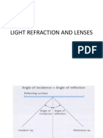 Light refraction and lenses [Autosaved].ppt