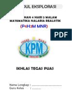 Modul Eksplorasi P4H3M MNR 25 Juli 2019