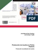 18 - Produccion de Insulina ISBN 978-3-659-09904-5 - Solo Caratula