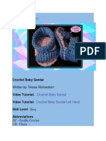 Crochet Learning