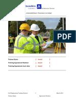 Civil Engineering Training Scheme