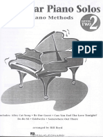 Hal Leonard- Popular Piano Solos for Beginners