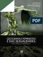 GEOGRAFIAS FEMINISTAS E DAS SEXUALIDADES