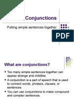 Conjunctions & sentence types presentation