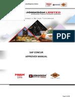 Sap Concur Approver Manual - Rmc