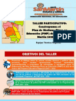 TALLER DEL PLAN DE MEDIANO PLAZO