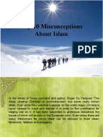 Top 10 Misconceptions AboutIslam