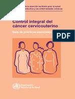 CONTROL INTEGRAL DE CANCER CERVICOUTERINO