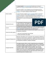 Glosario Programación Lógica y Funcional