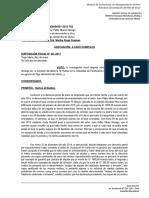 DECLARATORIA DE  CASO COMPLEJO FALSIFICACION DE DOCUMENTOS Y OTROS