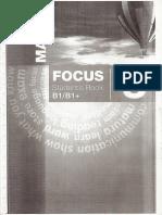 Focus 3 Student's Book B1/B1+