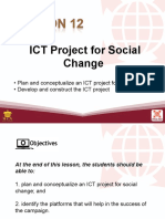 L12 ICT Project for Social Change
