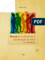 Manual Acolhimento Classificacao Risco Obstetricia 2017