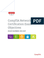 comptia N+ objectives