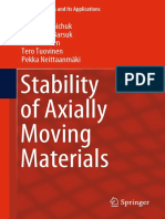 Stability of Axially Moving Materials_ N Banichuk, 2019.pdf