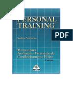 PERSONAL TRAINING - MANUAL PARA AVALIAÇÃO E PRESCRIÇÃO DE CONDICIONAMENTO FÍSICO - Walace Monteiro - LIVRO.pdf