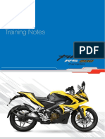 Training Note With Cover Page P200 RS