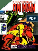 O invencível Homem de Ferro V1 ed.2