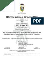 NORMA 2059 Uniones Roscadas