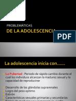 Problemáticas de la adolescencia