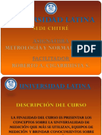 Descripcion Metrologia y Normalizacion