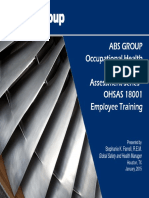 OSHA 18001 Version ABS